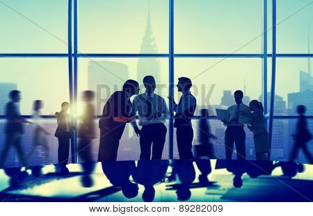Business People Corporate Communication Office Working Concept