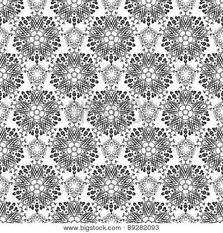 Vintage ornamental background. Elegant seamless pattern.