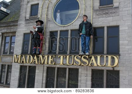 Madame Tussaud In Amsterdam Facade