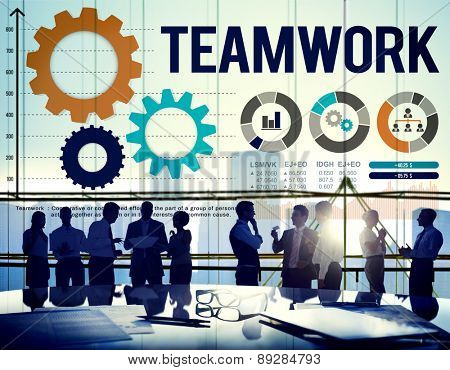 Teamwork Collaboration Business Team Interest Concept