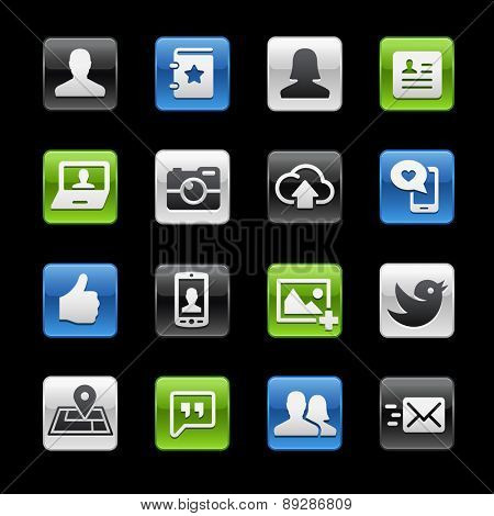 Social Web Icons // Gelbox Series