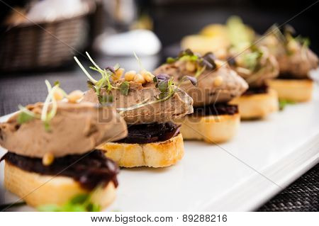 Duck liver patee