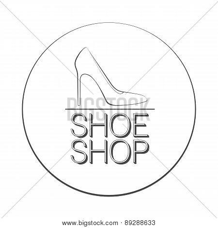 Shoe Shop Logo Concept