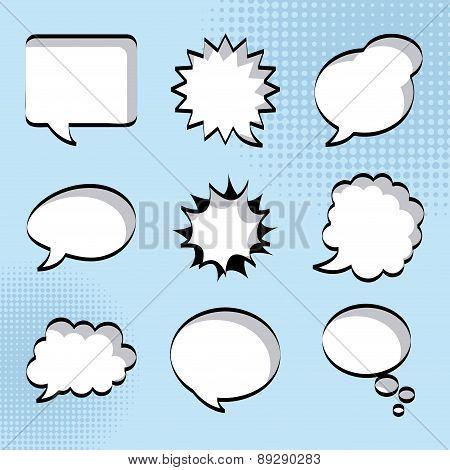 Pop art design over blue background vector illustration