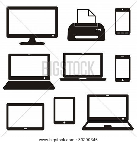 Digital Device Icons