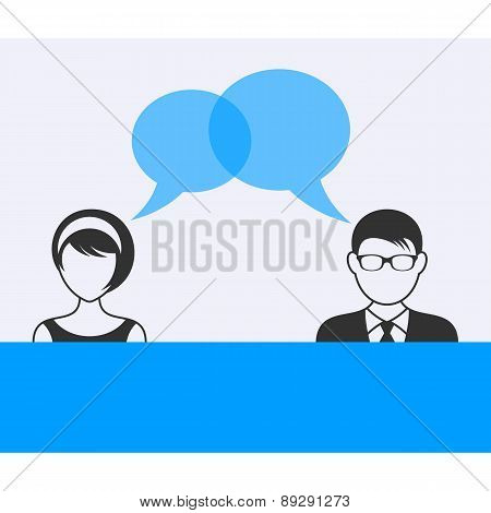 Man And Woman Dialog