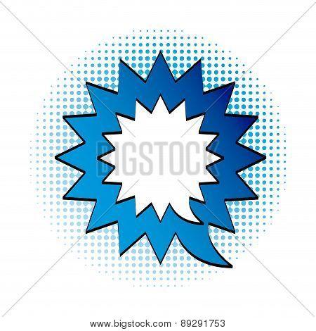 Pop art design over white background vector illustration