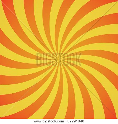 red-yellow color swirl burst background.