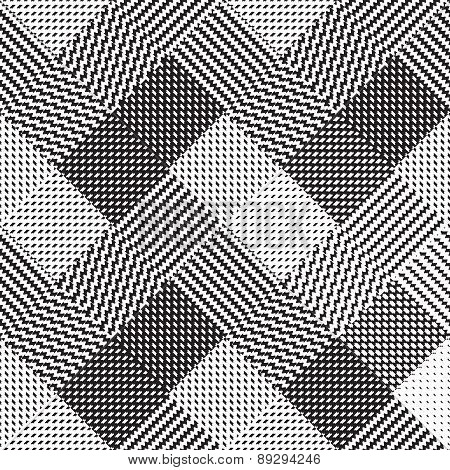 Black and white background, cloth vector pattern