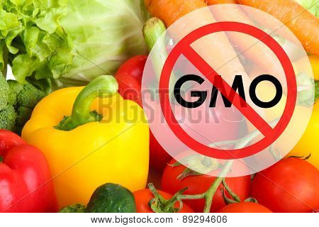 Fresh vegetables without gmo