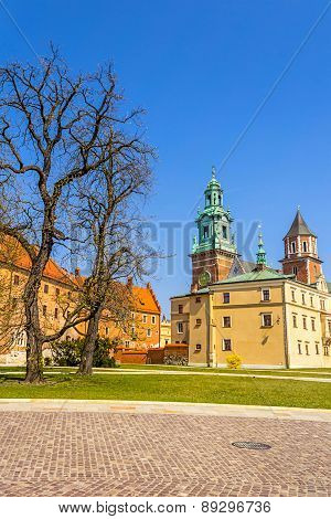 Royal Wawel Castle, Krakow, Poland