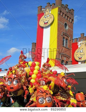 Carnival in Aalst 2014
