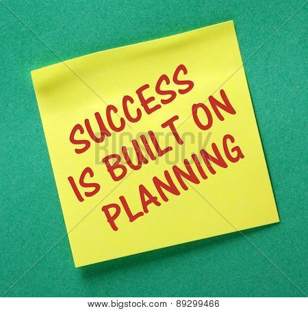 Planning and Success