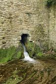 foto of water-mill  - Victoria Pin Mill Water outlet - JPG