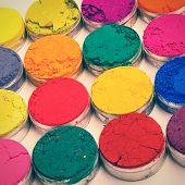 picture of holi  - Indian Holi festival colours  - JPG