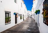 picture of southern  - Picturesque street of Mijas - JPG