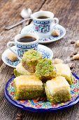 foto of baklava  - turkish delights  - JPG