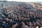 foto of hoodoo  - Hoodoos in Bryce Canyon National Park Amphitheater Utah  - JPG