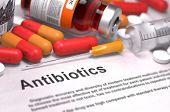 stock photo of antibiotics  - Antibiotics  - JPG
