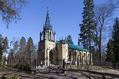stock photo of church  - Church of the Holy Apostles Peter and Paul  - JPG