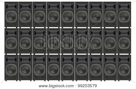 Stacks Concert Loudspeakers