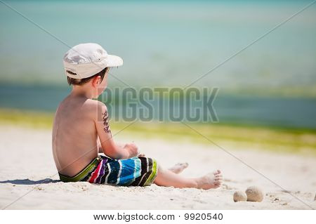 Boy On Vacation