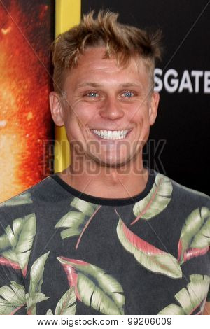 LOS ANGELES - AUG 18:  Billy Magnussen at the