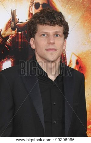 LOS ANGELES - AUG 18:  Jesse Eisenberg at the