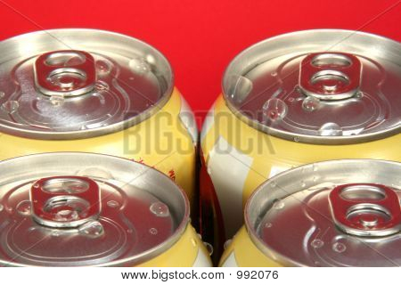 Four Soda Cans