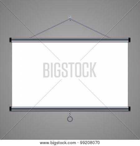 projection screen to showcase your projects, 16x9 aspect ratio