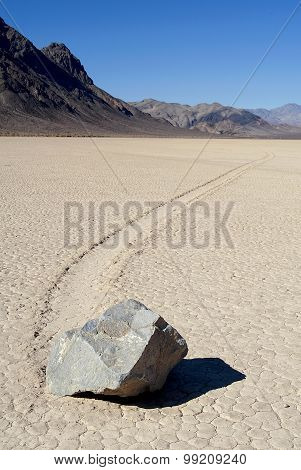 Racetrack Playa, Death Valley (California).
