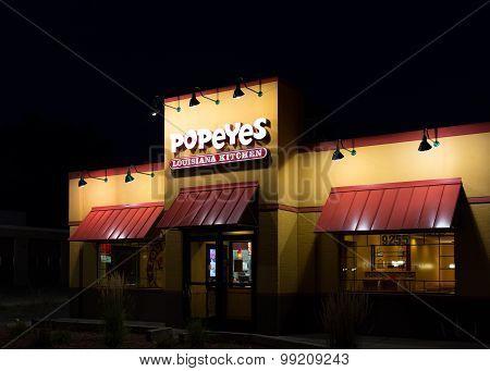 Popeyes Louisiana Kitchen Exterior
