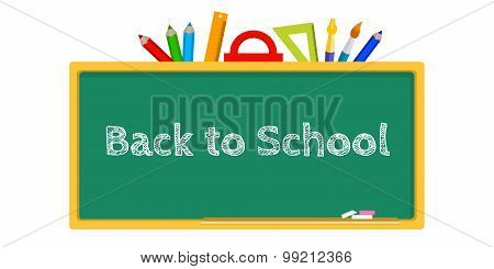 Blackboard, Stationery Back To School