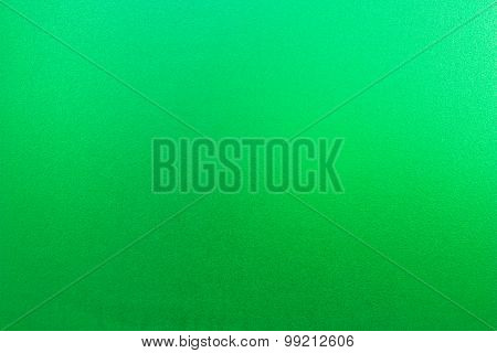 Green Frosted Glass.