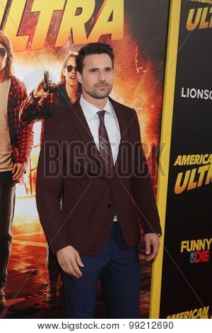 LOS ANGELES - AUG 18:  Brett Dalton at the
