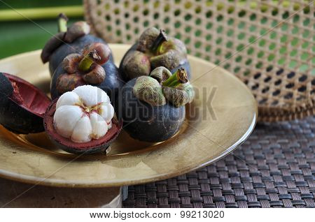 Exotic Fruit Mangosteen