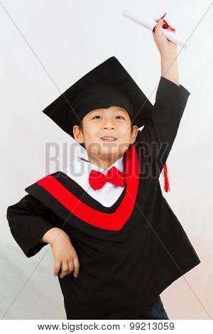 Chinese Graduation Boy
