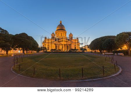 St. Isaac's Cathedral In St.petersburg, Russia