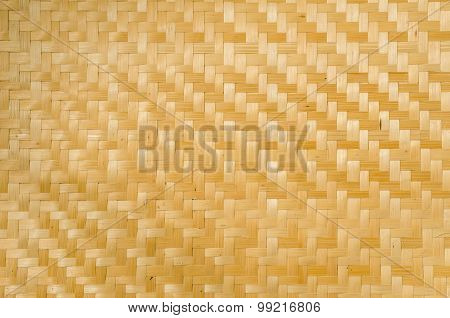 Bamboo weave pattern texture and background, nature seamless pattern wickerwork