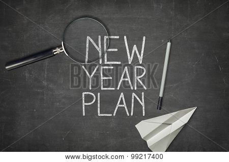 New year plan concept