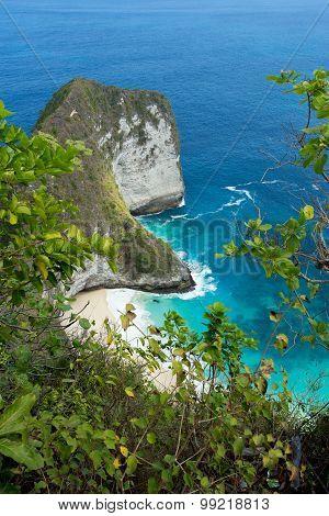 Dream Bali Manta Point Diving Place At Nusa Penida Island