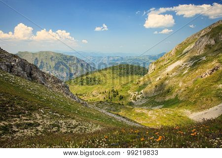 Landscape In Visitor Mountains