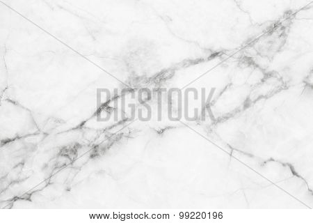 White marble texture, detailed structure of marble in natural patterned for design.