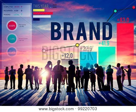 Brand Branding Copyright Product Sign Label Concept