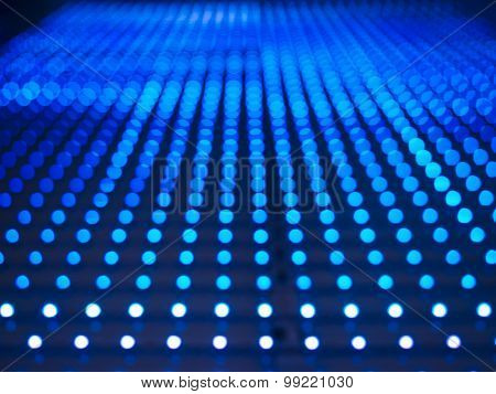 Technology Abstract Background Led Light Pattern