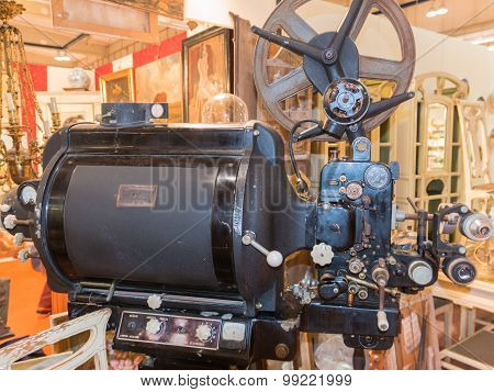 Old Vintage Professional Movie Projector