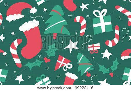 Christmas repeat pattern