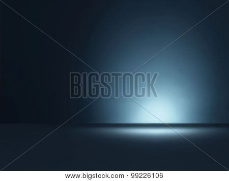 Blue Background Copy Space - Stock Image