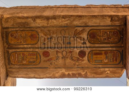 Hieroglyphic Of Karnak