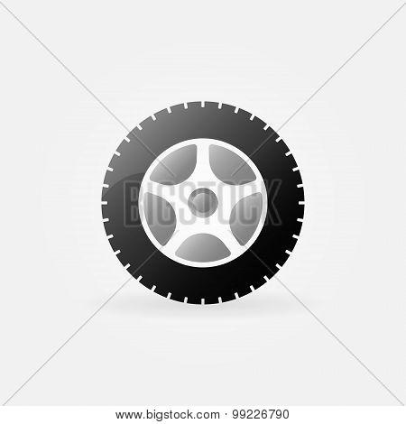 Wheel icon or logo